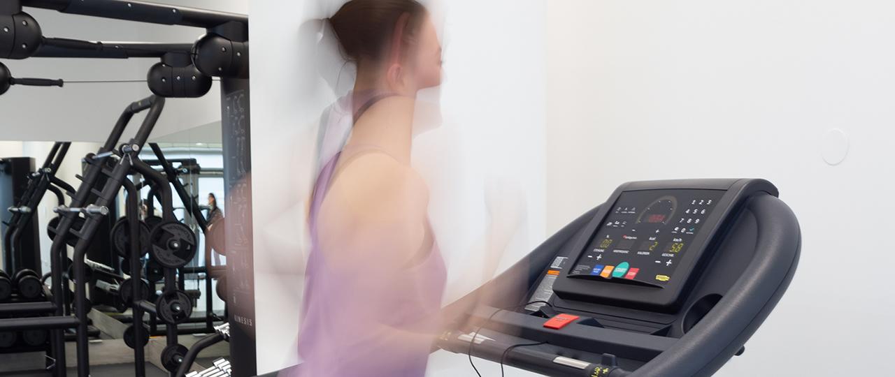 Gelenkzentrum Fitnessraum Speziell auf unseren Kurs Fit4Sport zugeschnitten
